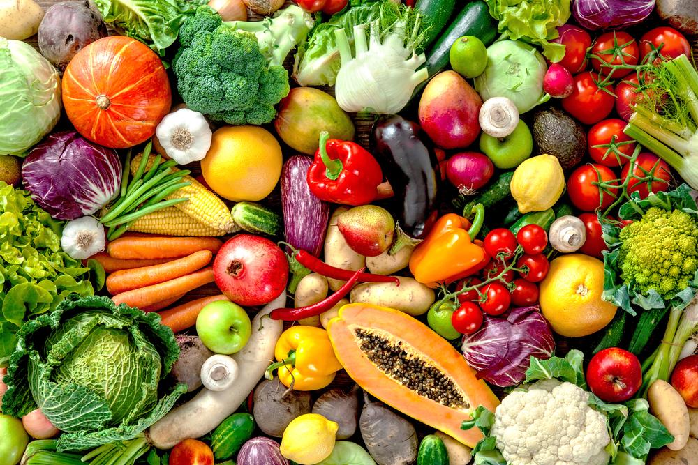 Fünf Portionen Obst und Gemüse am Tag